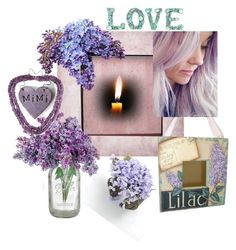 """""""Mimi Loves Lilacs"""" by tol-n-tique ❤ liked on Polyvore featuring interior, interiors, interior design, home, home decor, interior decorating and NOVICA"""