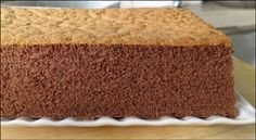 Chocolate and sponge cake recipe Fluffy Chocolate Cake, Chocolate Sponge Cake, Chocolate Cakes, Chocolate Flavors, Chocolate Recipes, Chocolate Swiss Roll, Artificial Food Coloring, Sponge Cake Recipes, Cake Videos