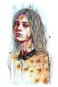 Explore the Colorful Art I just love collection - the favourite images chosen by jane-beata on DeviantArt. Portrait Illustration, Canvas Prints, Art Prints, Female Portrait, Laptop Skin, Witchcraft, Tapestry, Deviantart, In This Moment