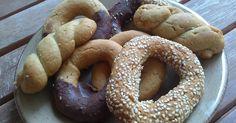 συνταγές νηστίσιμα ελαιόλαδο διατροφή υγεία Greek Desserts, Cooking Time, Bagel, Doughnut, Biscuits, Bread, Vegan, Cookies, Recipes
