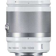 Nikon 1 Nikkor 10-100mm f/4.0-5.6 VR Lens - White