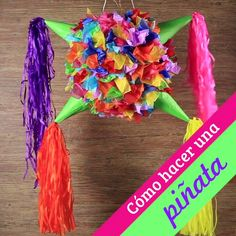 Cómo hacer una piñata This December season in which we have the traditional posadas, you cannot miss Mexican Pinata, Mexican Fiesta Party, Fiesta Theme Party, Party Themes, Diy Party Dekoration, Mexican Birthday Parties, Hawaiian Party Decorations, Diy Mexican Decorations, Mexican Christmas