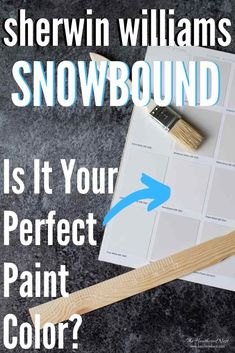 All About Sherwin Williams Snowbound - Is it the right white paint for you and your home? See it in 30+ REAL HOMES! Learn undertones, the temperature & more #sherwinwilliams #snowbound #snowboundwalls #snowboundexterior #snowboundcabinets #snowboundexteriorpaint #snowboundlivingroom #snowboundkitchencabinets #snowboundpaint #snowboundpaintcolor #sherwinwilliamssnowbound #whitepaintcolors #paintcolor #whitepaintforwalls