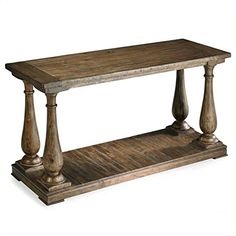 Magnussen T169573 Densbury Natural Pine Finish Wood Sofa Table *** Check out this great product.-It is an affiliate link to Amazon. #Sofa