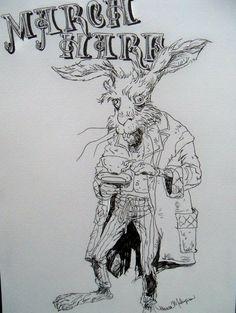 "March Hare ""Alice in Wonderland"""