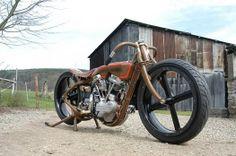 "KRUGGER MOTORCYCLES # ""Speedbowl"" 2005 H-D Revtec 85Ci"