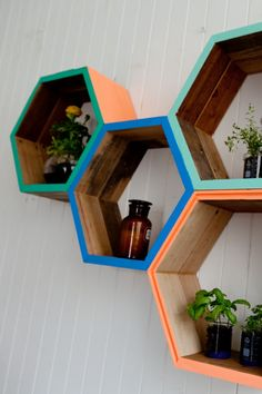 These quirky decorative shelving projects will enliven any room
