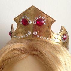 Princess Aurora Sleeping Beauty crown JEWELED by SpaceInvader
