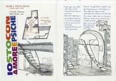 Negozio Project - Lan Hwang - retail design travel sketchbook