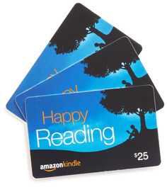Amazon Gift Card for my Kindle... @Kelsey Myers brown @Kaitlyn Marie Brown  for Christmas u guys... this is all i want...