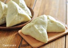 Carol 自在生活 : 花豆包子 Chinese Dumplings