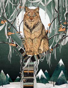Winter Lynx for Digital Arts Magazine from Sandra Diekmann