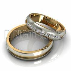 2820129e2091 Купить свадебные кольца из золота в Москве   Ring to Ring ювелирная  арт-студия