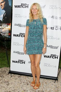 Gwen at the 'End of Watch' premiere