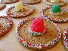 max birthday on 5 de mayo Mexican Birthday Parties, Mexican Fiesta Party, Fiesta Theme Party, Party Themes, Party Ideas, Sombrero Cookies, Deco Cupcake, Taco Bar Party, Mexico Party