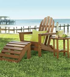 Poly-Wood™ Adirondack Furniture  easy, carefree