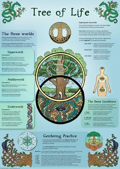 Items similar to Tree of Life - Infographic - Poster on Etsy Wiccan Spells, Magick, Witchcraft, Mutter Erde Tattoo, Tree Of Life Meaning, Tree Of Life Symbol, Celtic Tree Of Life, Life Poster, Spirit Science