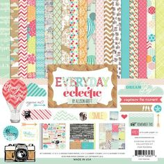 Echo Park - Everyday Eclectic 12x12 Collection Kit