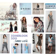 ZomerLook 2015 Van Alem Mode by jj-van-gemert on Polyvore