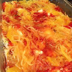 Spaghetti Squash Lasagna Bake - 21 Day Fix Approved