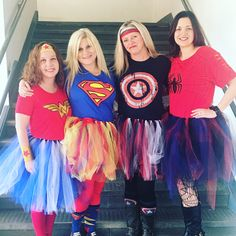 diy superhero halloween costume for ladies women mom