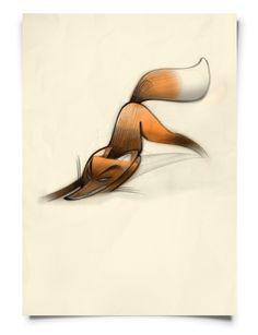 Foxy by Frank Josten, via Behance
