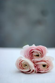 Creative with Flowers-# 38-Soft Pink Ranunculus in a Bag-Ingrid Henningsson-Of Spring and Summer
