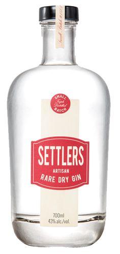 settlers rare dry gin australia - Google Search