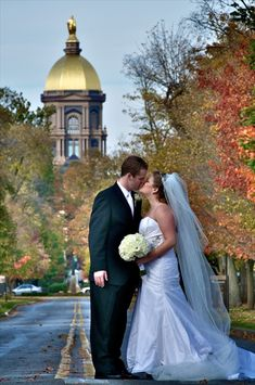 University of Notre Dame – South Bend – Reception and Ceremony Locations