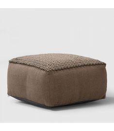 This ottoman features a distinctive blend of felt and woven cotton. This item can be used as a footrest, accent piece or seating when needed. Filling Thermocol Beans Material Felt Cotton Dimensions (D) x (H) Foot Rest, Accent Pieces, Taupe, Living Spaces, Woven Cotton, Ottomans, Felt, Furniture, Beige