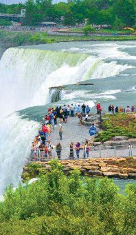 Luna Island, Niagara Falls State Park #PerfectDayNF