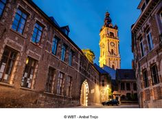 Belfry of Mons. UNESCO World Heritage since Mons 2015 European Capital of Culture Wallonia, Belgium. In 2015, San Francisco Ferry, Big Ben, City, World, Building, Travel, Tourism, Cities