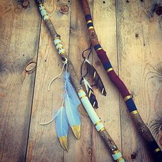 Boho Therapy ✌️ Hand Painting Feathers and Talking Sticks ✌️