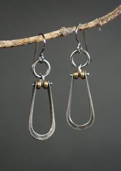 Stirrup Earrings by MaggieJs on Etsy https://www.etsy.com/listing/116865533/stirrup-earrings