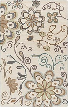 Surya Athena ATH-5123 Hand Tufted Wool Floral and Paisley Area Rug, 5-Feet by 8-Feet Surya http://www.amazon.com/dp/B00GD143Q2/ref=cm_sw_r_pi_dp_9EwPvb0B0R5AF