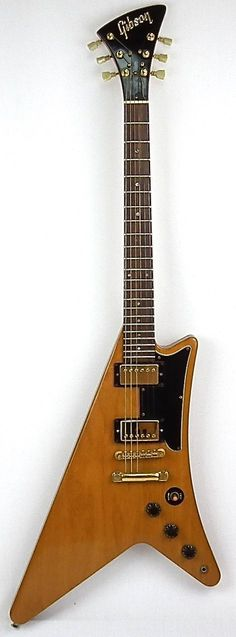 Premier Guitars | Gibson Moderne – USA 1982 – Korina – original