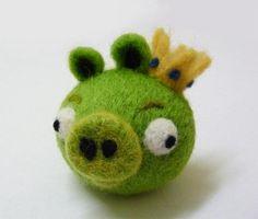 Cute evil piggy creation