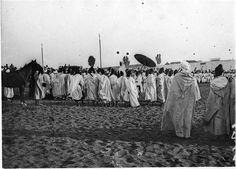 Rabat  Palais du sultan  Le sultan recevant les caïds  1917.07.24
