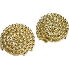 Vintage Tiffany & Co. Tiffany Jewelry, Earrings, Gold, Vintage, Ear Rings, Stud Earrings, Ear Jewelry, Vintage Comics, Primitive