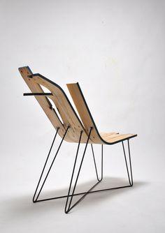 Bois mou es el último proyecto del joven diseñador parisino Jules Levasseur. Se trata de un experimento con madera curvada en el que el...