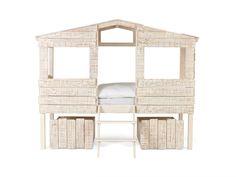 Dětská postel bílá - Desert