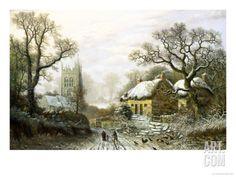 Kingston, Somerset Giclee Print