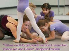 Ballet Teacher Inspiration