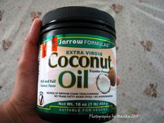 Extra virgin coconut oil, my favorite brand, the Yarrow Formulas