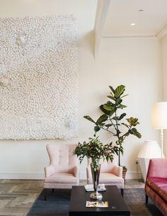 the Quirk Hotel lobby cafe | wanderlust design via coco kelley