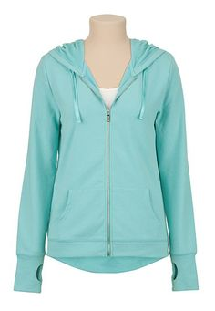maurices offers a wide selection of women's clothing in sizes including jeans, tops, and dresses. Sweater Jacket, Hooded Jacket, Comfy Casual, High Low, What To Wear, Cute Outfits, Mint, Fashion Outfits, Hoodies