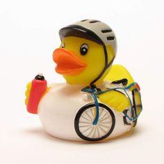 Badeente Radrennfahrer - Rubber Duck