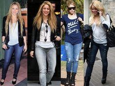 Quanta Frescura: Estilo Shakira!!