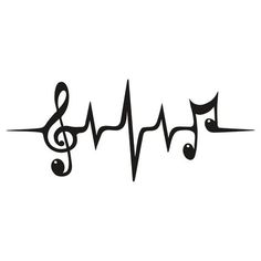Music Pulse Notes Clef Frequency Wave Sound Dance by boom-art The post Music Pulse Heartbeat Notes Clef Frequency Wave Sound Festival Sticker by Anne Mathiasz appeared first on Best Tattoos. Symbol Tattoos, Music Tattoos, Body Art Tattoos, New Tattoos, Sleeve Tattoos, Tattoos For Guys, Tatoos, Tattoo Neck, Music Symbol Tattoo
