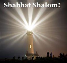 Shabbat Shalom Lighthouse Picture